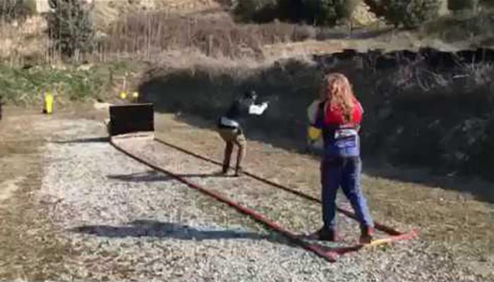 Συμμετοχή του Γιώργου Μίχου στους αγώνες Πρακτικής Σκοποβολής level1